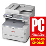 OKI MC362w PC Magazine Editors' Choise!