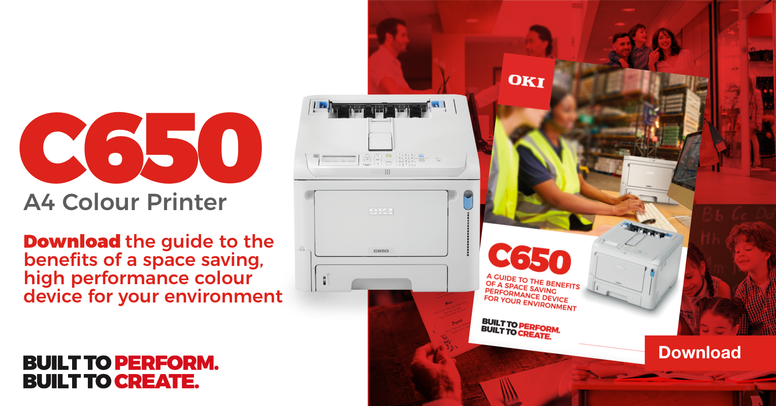 OKI C650 New A4 Colour LED Printer