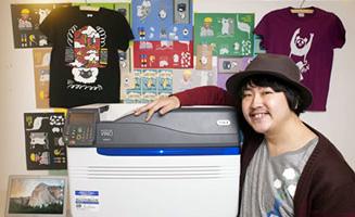 为客户提供个性化原创T恤及饰品