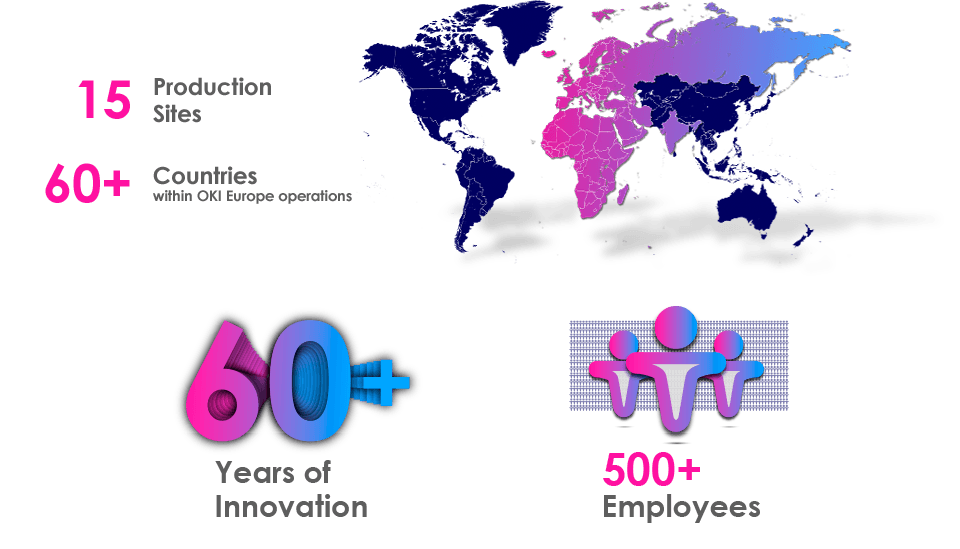 OKI Europe At a Glance | Corporate Information | ABOUT US | OKI ...