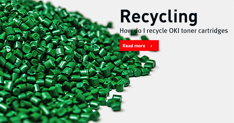 How do I recycle OKI toners, Original consumables
