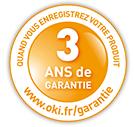 3 ans de garantie sur site