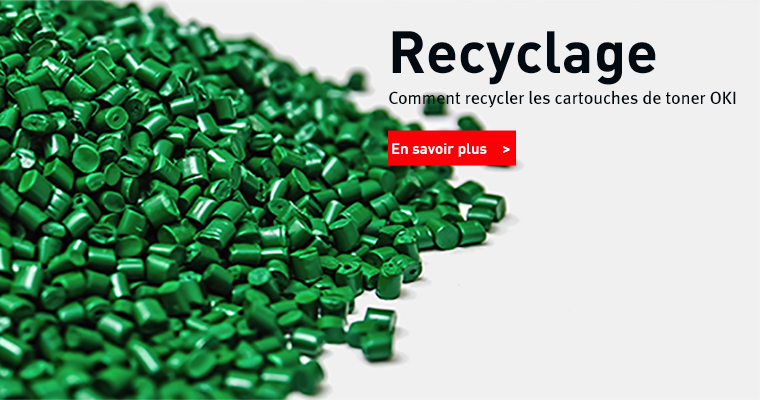 Comment recycler les toners OKI
