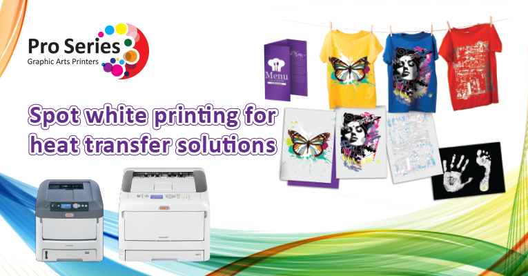 White Toner Printers for Graphic Arts Printing