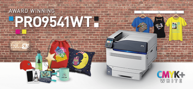 Pro9541WT, White Toner, White Ink, How to print in White
