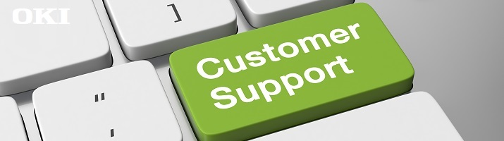 OKI Customer Support image