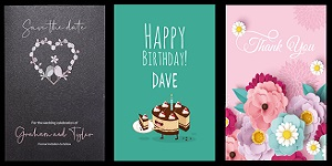 Print Personalised Greeting Cards & Stationery