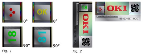 New hologram elements x4 Hologram 90degrees turn