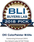 OKI ColorPainter M-64s_BLI award_Wide Format Printer