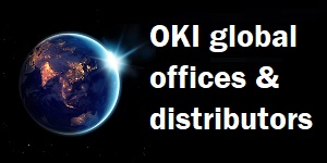 OKI global offices and distributors