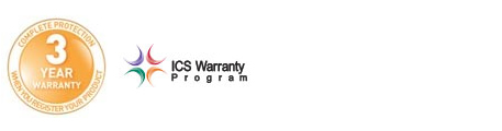 3 Year And ICS Warranty