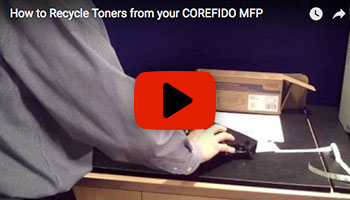 How to Recycle Toners from your COREFIDO MFP