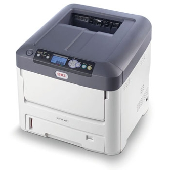 The C711WT Digital Color Printer Has Ability To Print Plus White On Transfer Media High Quality Solid Graphics And Text As Well