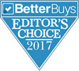 BetterBuys Editor's Choice 2017