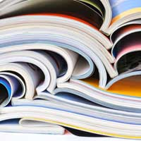 Bristol paper is a heavy board-grade paper with a soft surface often used for catalog or paperback book covers.