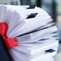 Index paper is stiff, inexpensive, absorbs ink well and is frequently used for index cards and business reply cards.